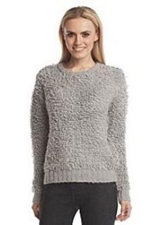 MICHAEL Michael Kors® Knitted Fur Crewneck Sweater