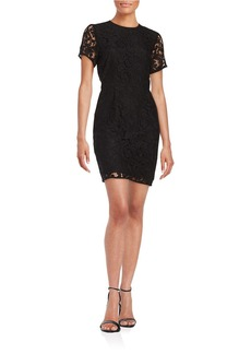 MICHAEL MICHAEL KORS Lace Fit-and-Flare Frock