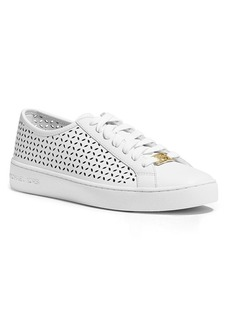 MICHAEL Michael Kors Lace Up Sneakers - Olivia Perforated