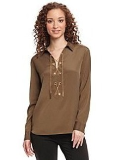 MICHAEL Michael Kors® Lace Up Top