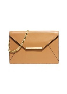 MICHAEL Michael Kors Lana Envelope Clutch Bag, Peanut
