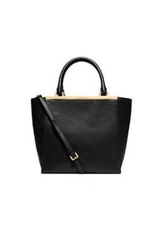 MICHAEL Michael Kors Lana Medium Tote Bag, Black
