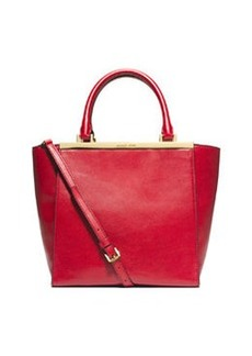 MICHAEL Michael Kors Lana Medium Tote Bag, Dark Red
