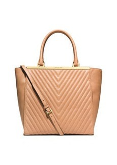 MICHAEL Michael Kors Lana Quilted Medium Tote Bag, Suntan