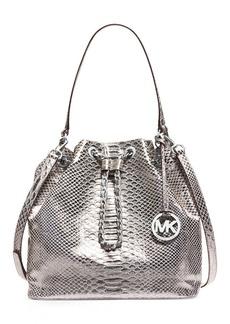 MICHAEL Michael Kors Large Chain Drawstring Shoulder Bag