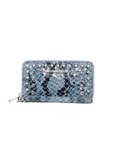 MICHAEL Michael Kors Large Jet Set Jeweled Python-Print Multifunction Case