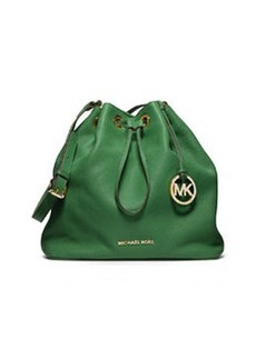 MICHAEL Michael Kors Large Jules Drawstring Shoulder Bag, Gooseberry