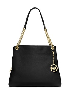 MICHAEL MICHAEL KORS Large Leather Shoulder Tote