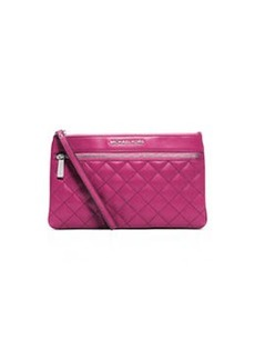 MICHAEL Michael Kors Large Selma Quilted Zip Clutch