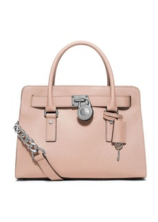 MICHAEL MICHAEL KORS Leather East West Satchel