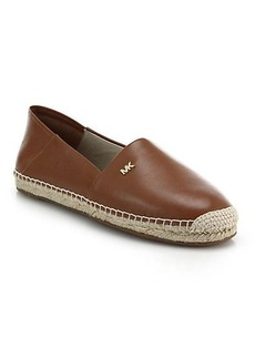 MICHAEL MICHAEL KORS Leather Espadrilles