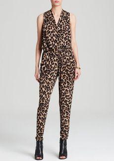 MICHAEL Michael Kors Leopard Print Jumpsuit