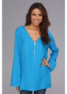 MICHAEL Michael Kors Linked Solids Cover-Up Tunic