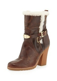 MICHAEL Michael Kors Lizzie Fur-Lined Ankle Boot