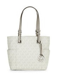 MICHAEL MICHAEL KORS Logo Faux Leather Tote