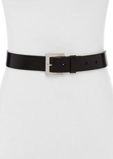 MICHAEL Michael Kors Logo Harness Buckle Belt