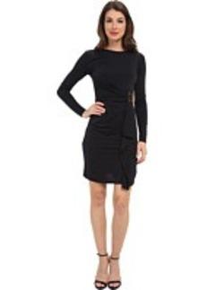 MICHAEL Michael Kors Logo Plate Matte Jersey Dress