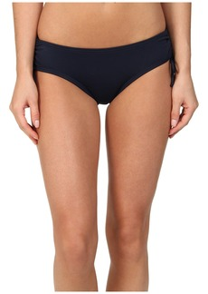 MICHAEL Michael Kors Logo Solids Shirred Hipster Bottom