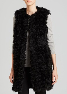 MICHAEL Michael Kors Long Faux Fur Vest
