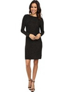MICHAEL Michael Kors Long Sleeve Cowl Back Dress