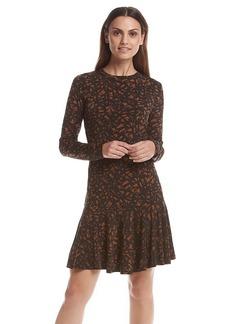 MICHAEL Michael Kors® Long Sleeve Flare Dress