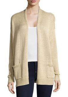 MICHAEL Michael Kors Long-Sleeve Knit Cotton Cardigan