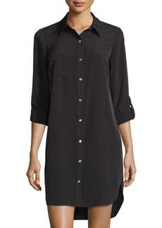 MICHAEL Michael Kors Long-Sleeve Shirtdress