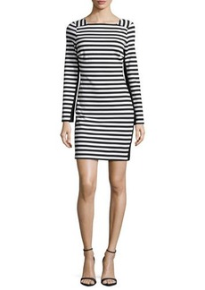MICHAEL Michael Kors Long-Sleeve Striped Dress  Long-Sleeve Striped Dress