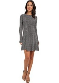 MICHAEL Michael Kors L/S Belice Flare Dress
