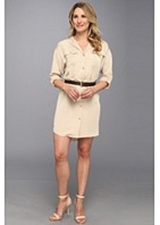 MICHAEL Michael Kors L/S Dolman Shirt Dress