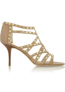 MICHAEL Michael Kors Maddie studded leather sandals
