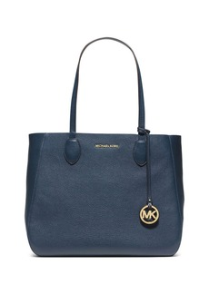MICHAEL MICHAEL KORS Mae Large East West Leather Tote