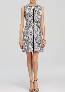 MICHAEL Michael Kors Marble Swirl Print Dress