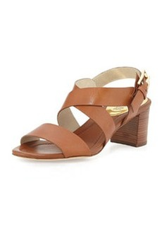 MICHAEL Michael Kors Maria Leather City Sandal