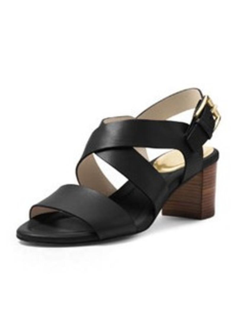MICHAEL Michael Kors Maria Leather City Sandal