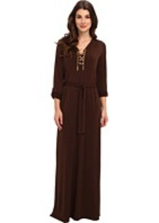 MICHAEL Michael Kors Maxi Chain Tie Dress