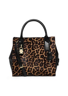 MICHAEL Michael Kors Mckenna Cheetah-Print Calf Hair Medium Satchel Bag  Mckenna Cheetah-Print Calf Hair Medium Satchel Bag