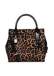 MICHAEL MICHAEL KORS McKenna Medium Cheetah-Print Satchel