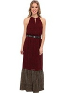 MICHAEL Michael Kors Meadow Maxi Chain Dress