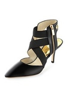 """MICHAEL Michael Kors® """"Meadow"""" Strapped Heels with Zipper"""