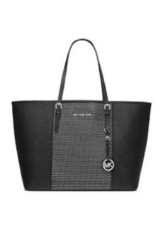 MICHAEL Michael Kors Medium Jet Set Studded Travel Tote