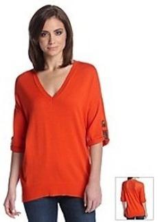 MICHAEL Michael Kors® Mesh Back Sweater