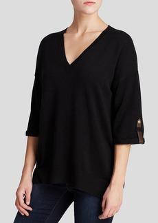 MICHAEL Michael Kors Mesh Back Sweater