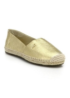 MICHAEL MICHAEL KORS Metallic Leather Espadrilles