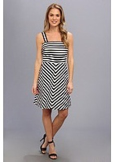 MICHAEL Michael Kors Miter Stripe Ponte Dress