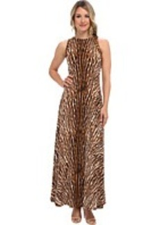 MICHAEL Michael Kors Mix Print Studded Maxi Dress