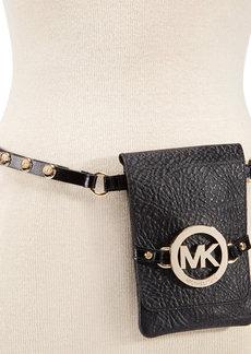 MICHAEL Michael Kors MK Medallion Belt Bag