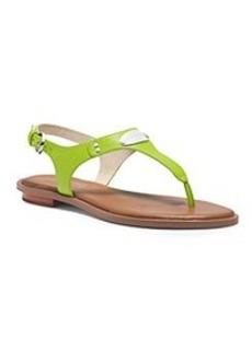 "MICHAEL Michael Kors® ""Mk Plate Thong"" Sandals"