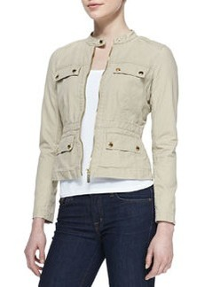 MICHAEL Michael Kors Mock-Neck Zip Jacket