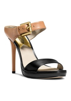MICHAEL Michael Kors Mule Sandals - Beverly Buckled Colorblock